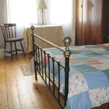 bedroom in Northern Ireland self-catering group accommodation Downhill Beachhouse